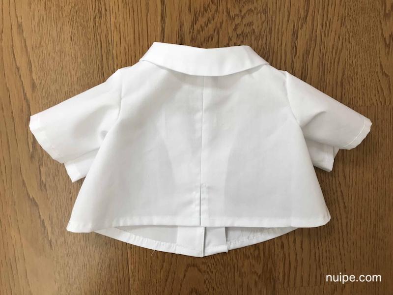 ダッフィー服作り方白衣