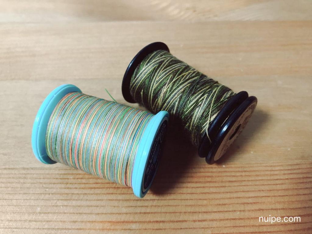 カラフルミシン糸