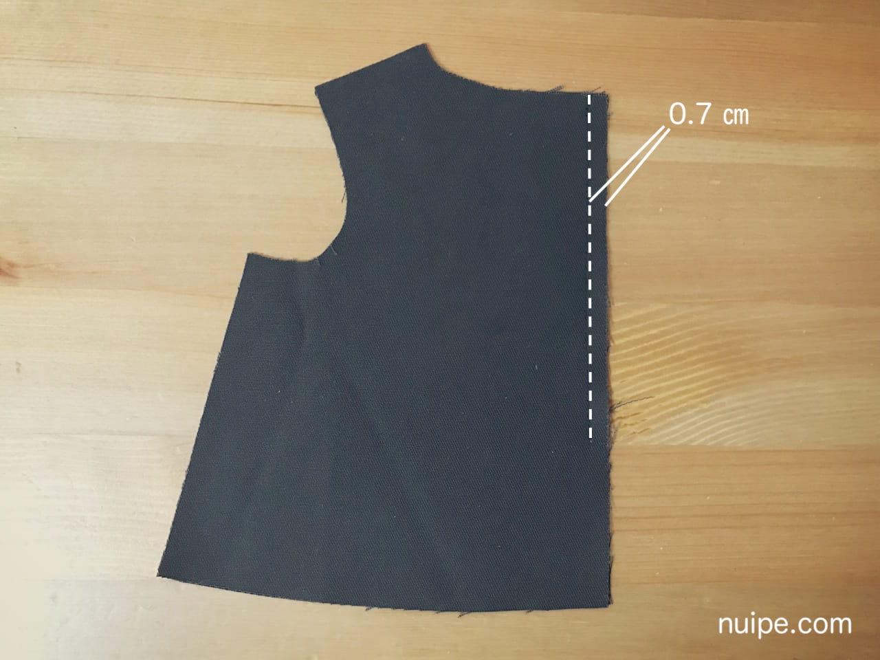スリット縫い