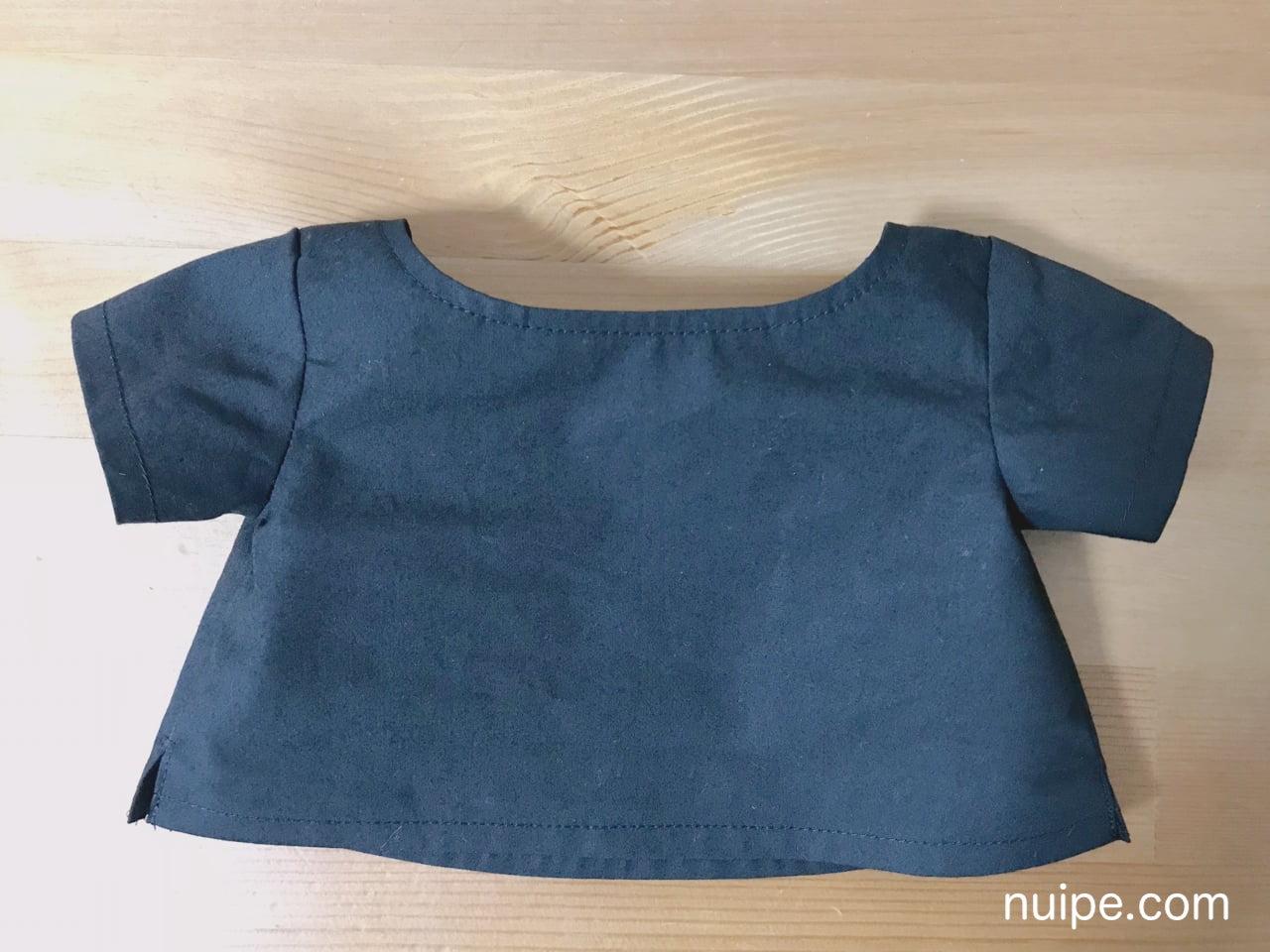 ダッフィーの服作り方Tシャツ