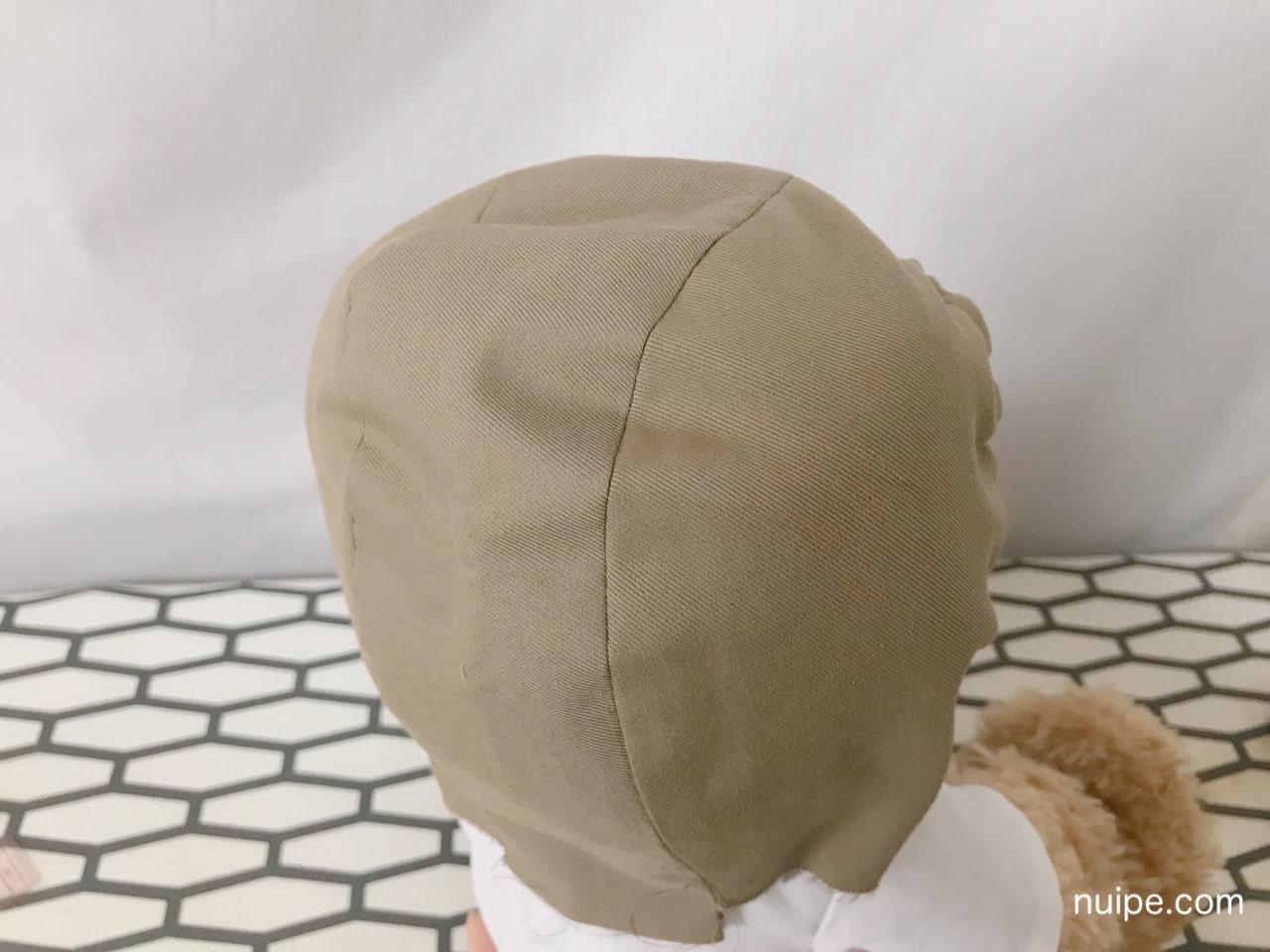ダッフィー服作り方着ぐるみ風帽子