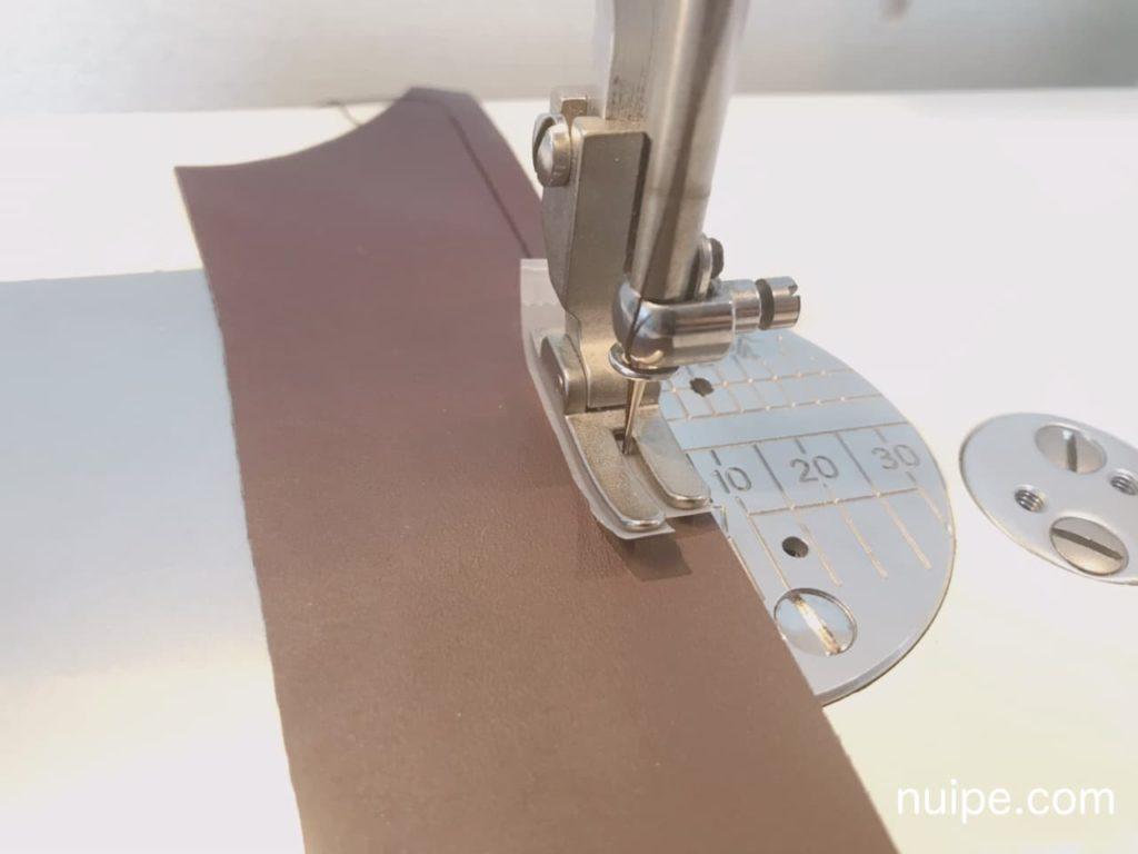 合皮の縫い方のコツ