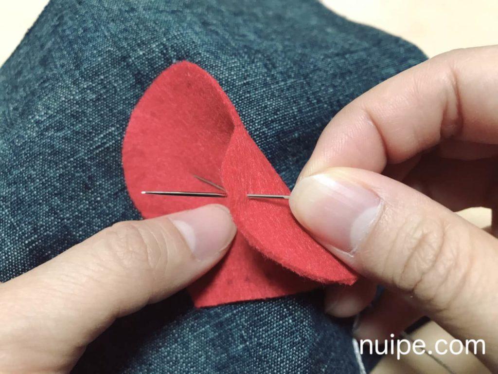 ブランケットステッチの縫い方