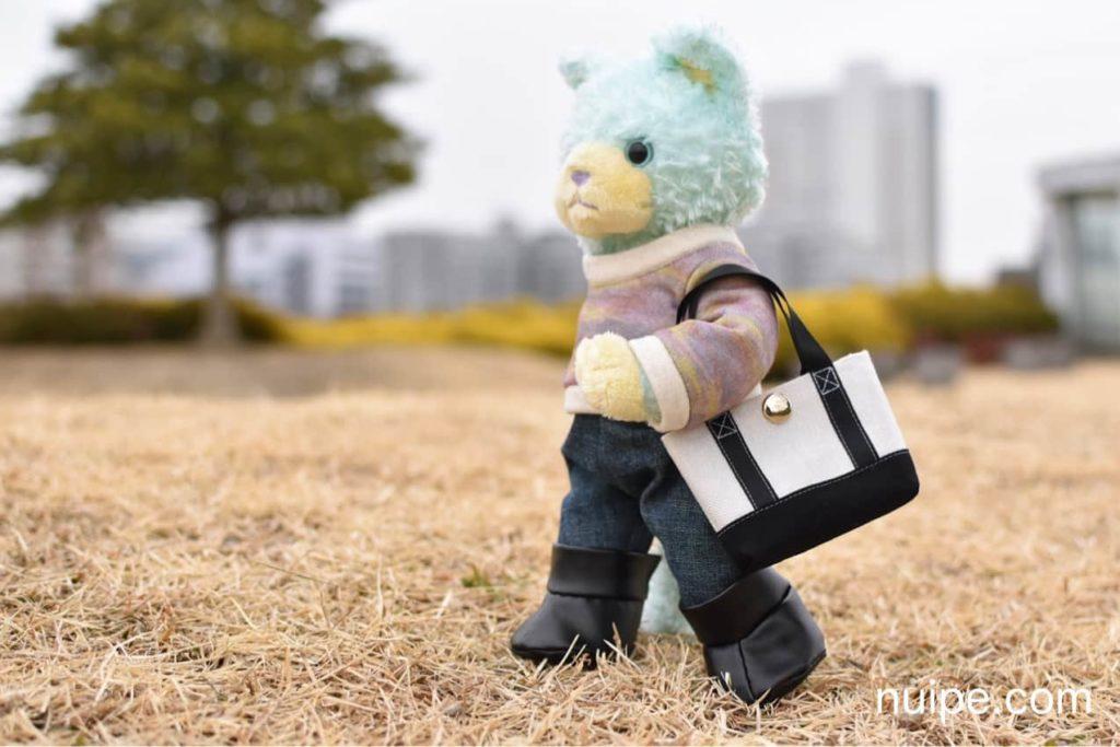 バッグを持ってるプリンスキャット