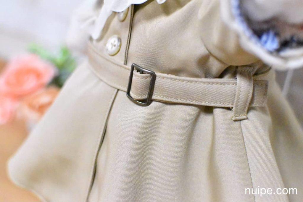シェリーメイのトレンチコートベルト