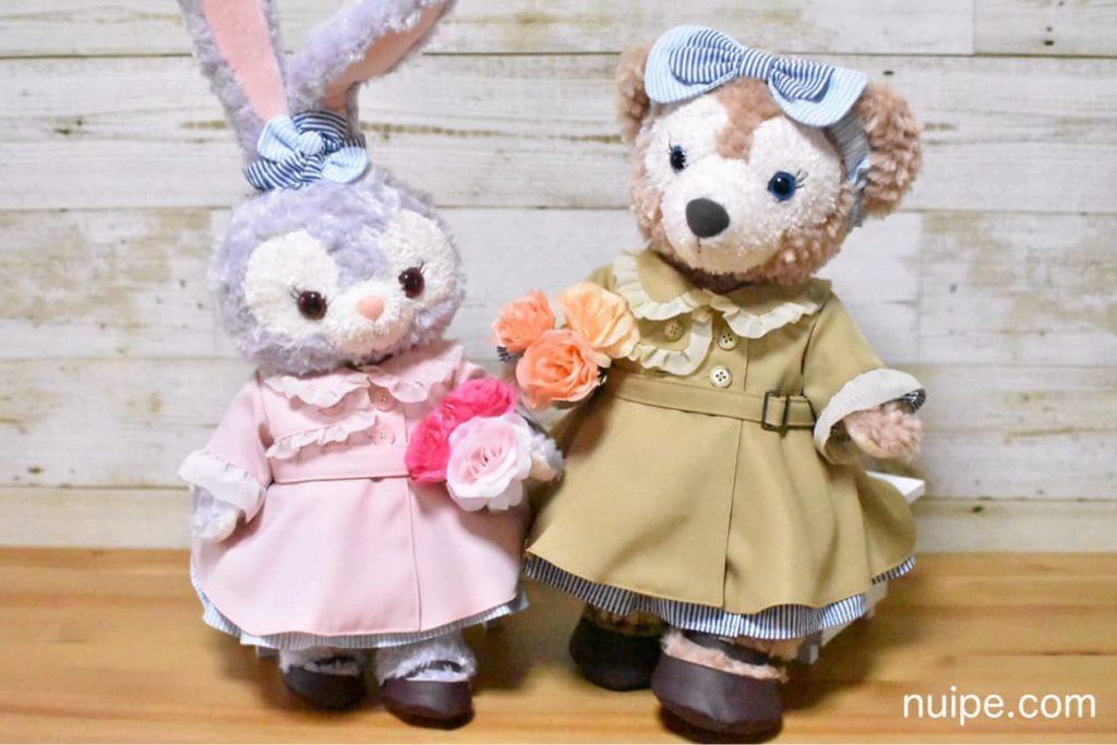 花を持ったシェリーメイとステラルー