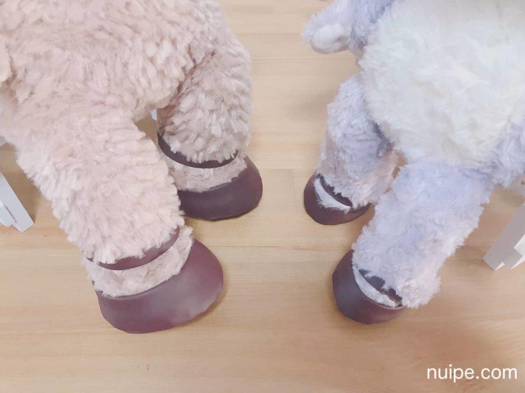 靴を履いたシェリーメイとステラルー