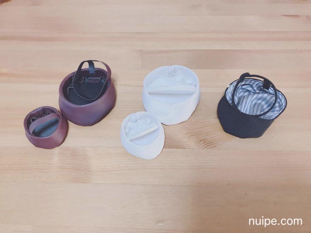 靴の試作品