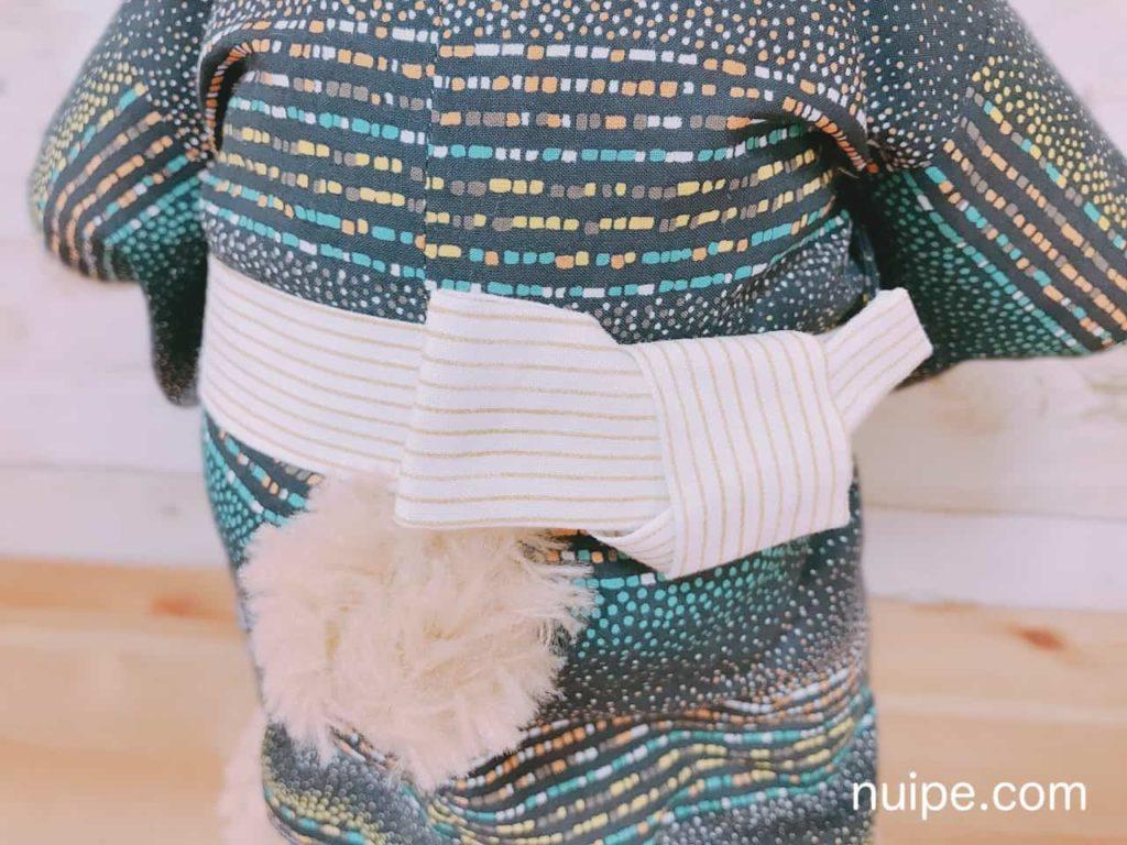 ダッフィーの浴衣(着物)の帯