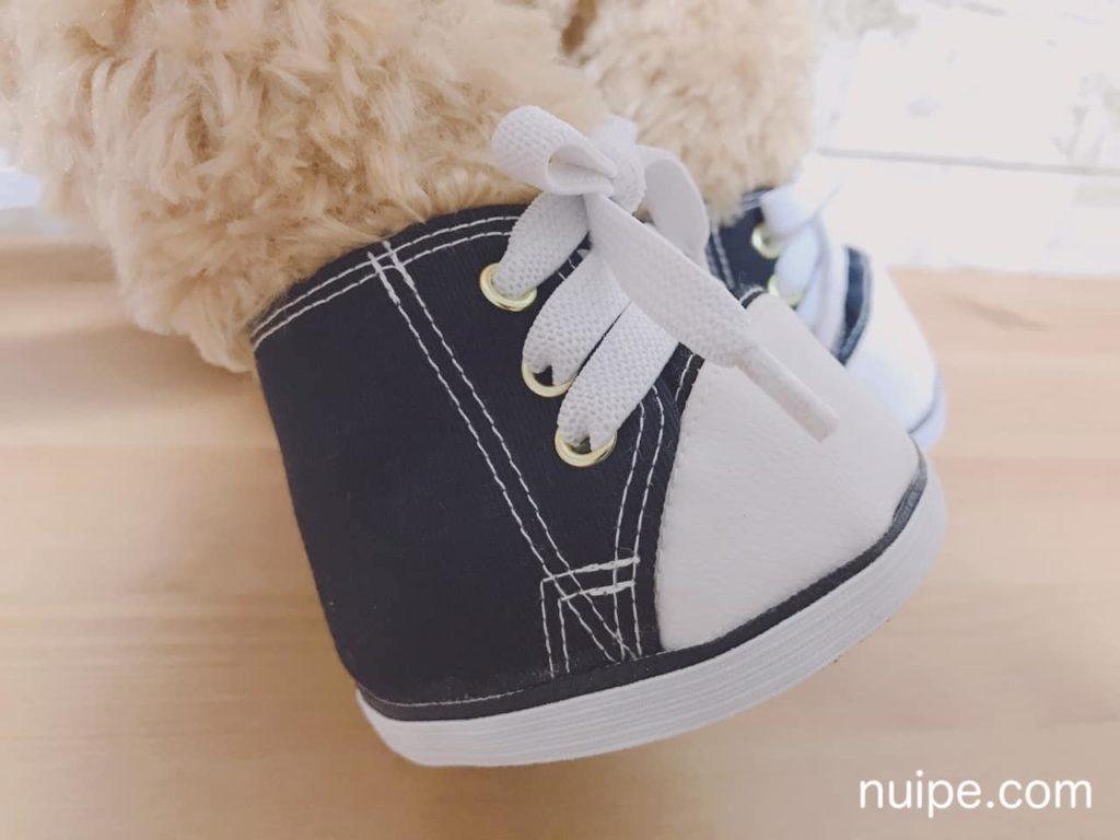靴のステッチ