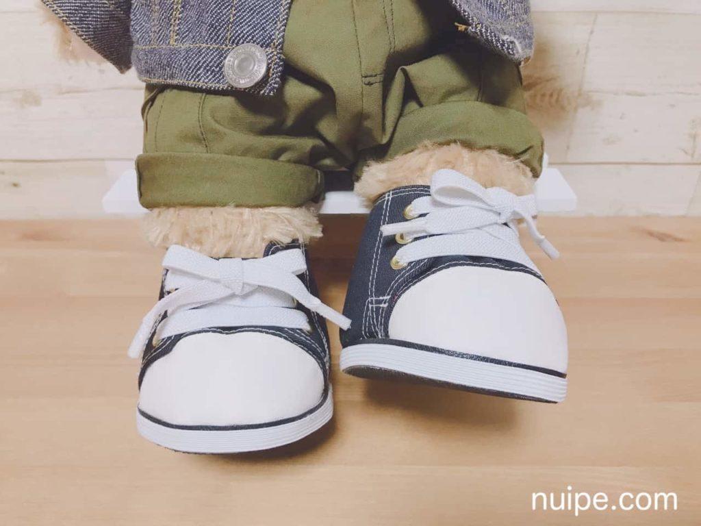 ダッフィーの靴