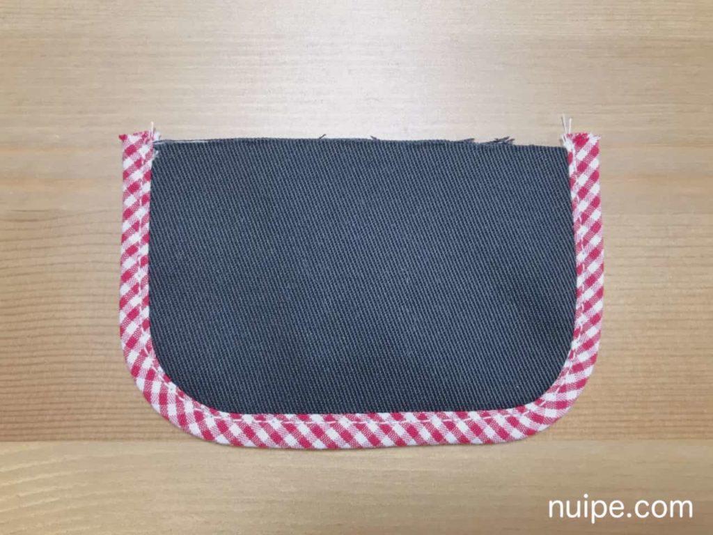 パイピングを縫う