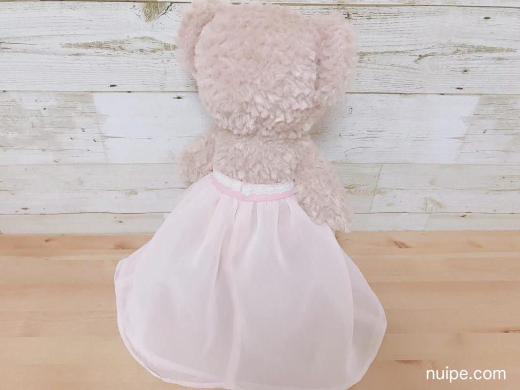 シェリーメイのドレス全体後ろ