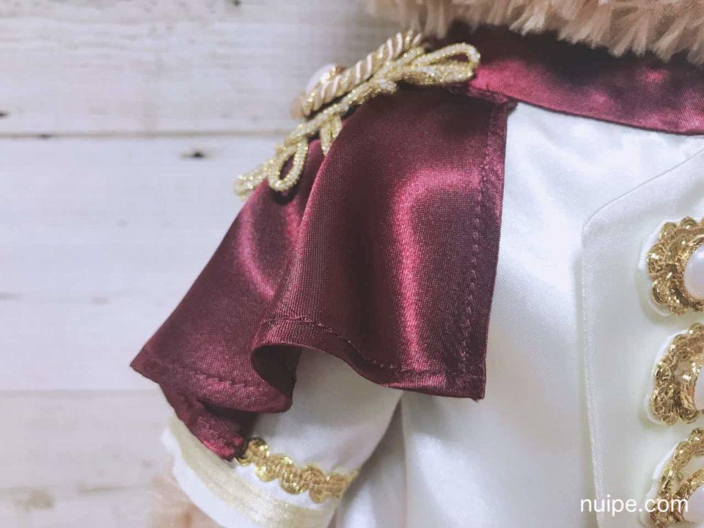 ダッフィーの王子様衣装