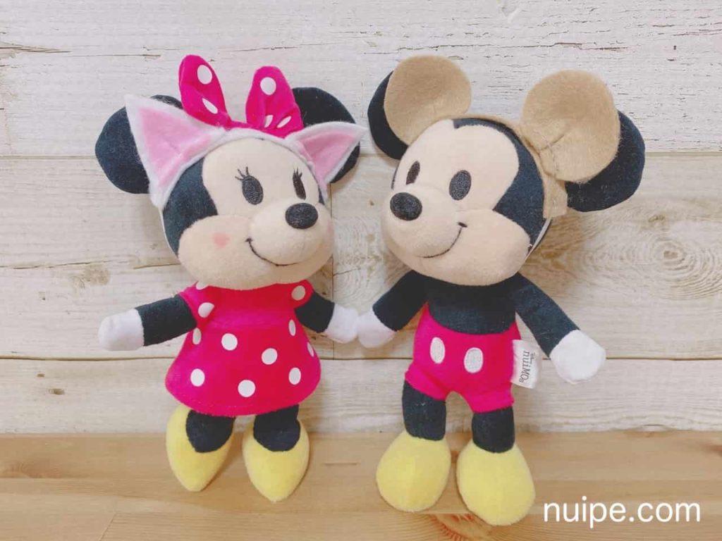 ミッキーとミニーのケモ耳