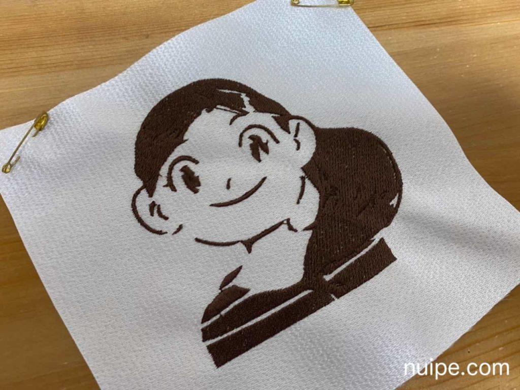 ぬいぺのアイコン刺繍