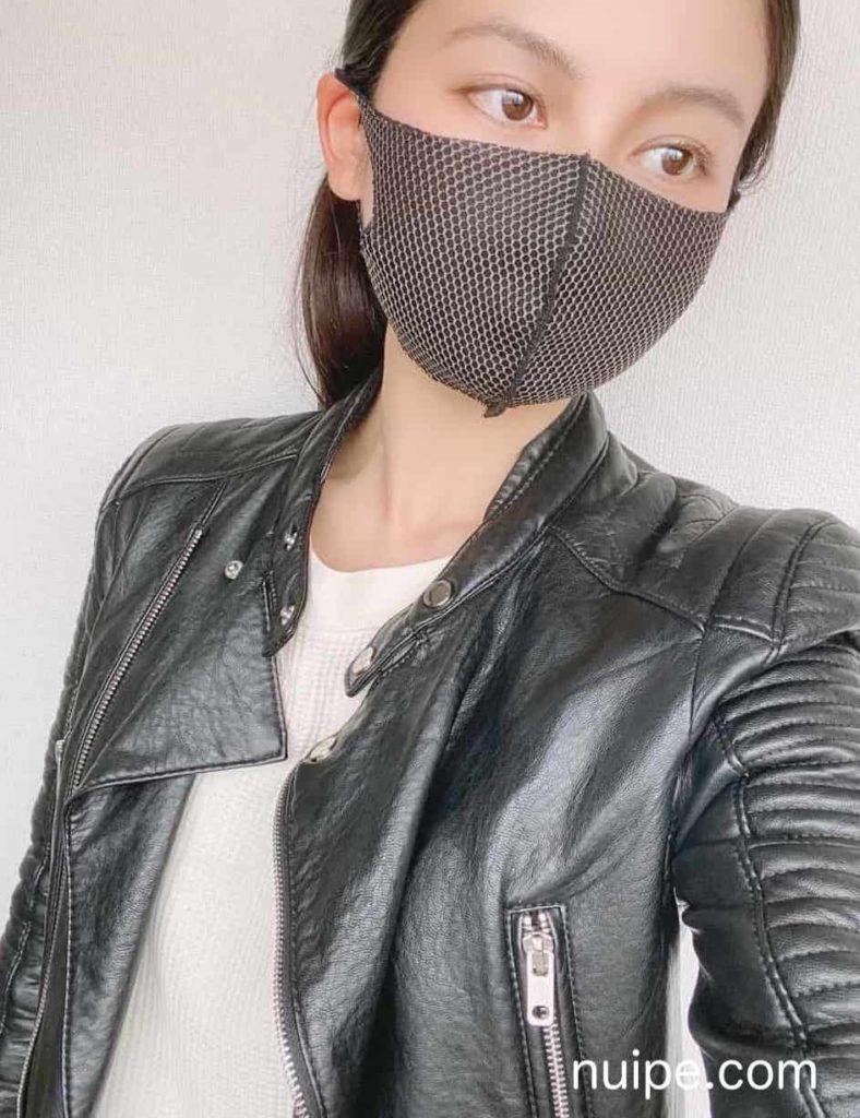 ライダースとマスク