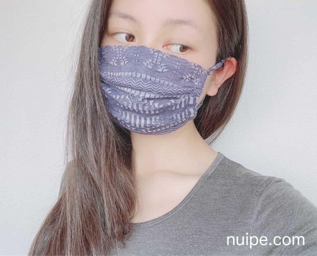 Tシャツで作ったマスク