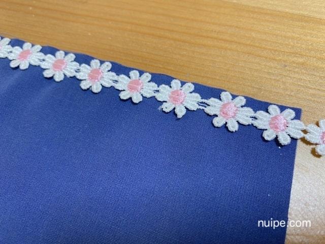 モチーフレースの縫い方